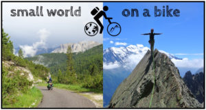 Small world on a bike